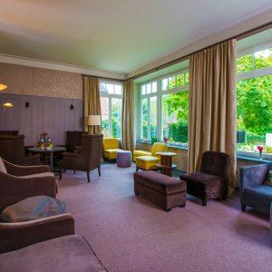 Die Wintergarten-Lounge für bis zu 25 Personen mit Weitblick