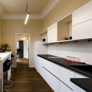 Kitchen-Club für vertraulichen Gedankenaustausch