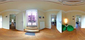 360-Grad-Aufnahme, VILLA LEONHART Eventlocation, 1. OG