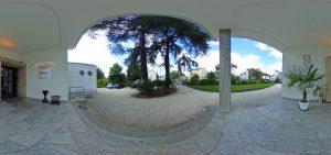 360-Grad-Aufnahme, VILLA LEONHART Eventlocation, Außengelände vorne