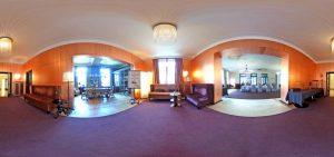 360-Grad-Aufnahme, VILLA LEONHART Eventlocation, Kupfersaal