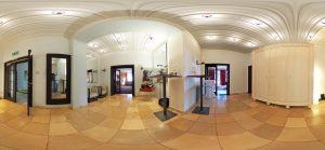 360-Grad-Aufnahme, VILLA LEONHART Eventlocation, Lobby