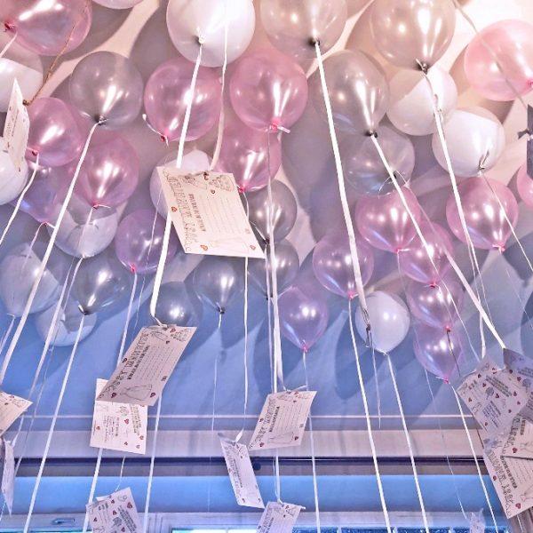 VILLA LEONHART Eventlocation, Hochzeit, Ballons mit Wünschen-1