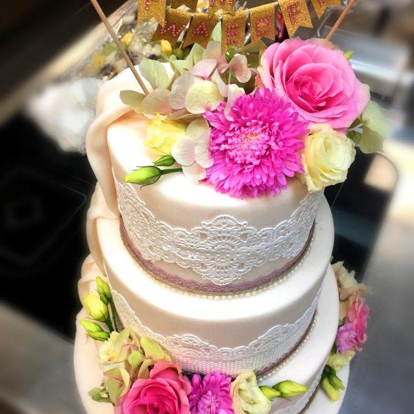 VILLA LEONHART, Eventlocation, Hochzeit, Torte-2a