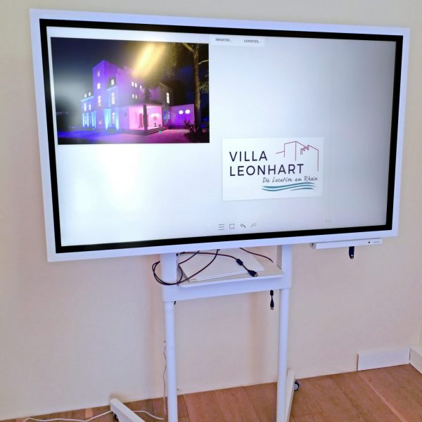 VILLA LEONHART Eventlocation, Digitales Flipchart-4a