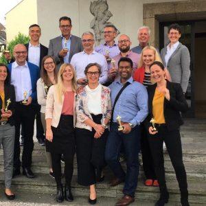 Bericht: Erfolgreiche Zertifizierungsprüfung zum Geprüften Business Coach (BDVT & WCTC) am 13. Juli 2019 in der VILLA LEONHART in Königswinter